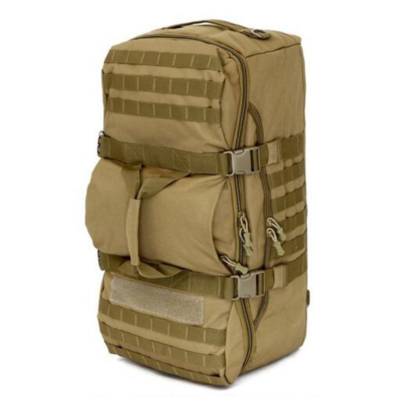 50L sac à dos voyage combinaisons sac à dos randonnée grand hommes sac de voyage résistant à l'usure alpinisme double usage étanche à l'eau seau Shou