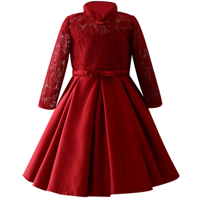 572f840eeef86 2 12 year Girl Lace sequins Formal Teenage Girls Party Dresses Baby Girl  Clothes Kids Toddler Girl Christmas Outfit Costume-in Dresses from Mother &  Kids on ...