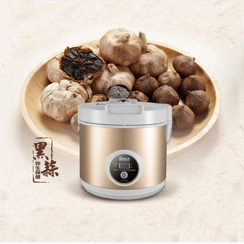 220 V Fermentation Ail Noir Machine Santé Food Maker Ferment Zymosis L'ail Maker Robot Culinaire Pour Le Ménage Cuisine Outil