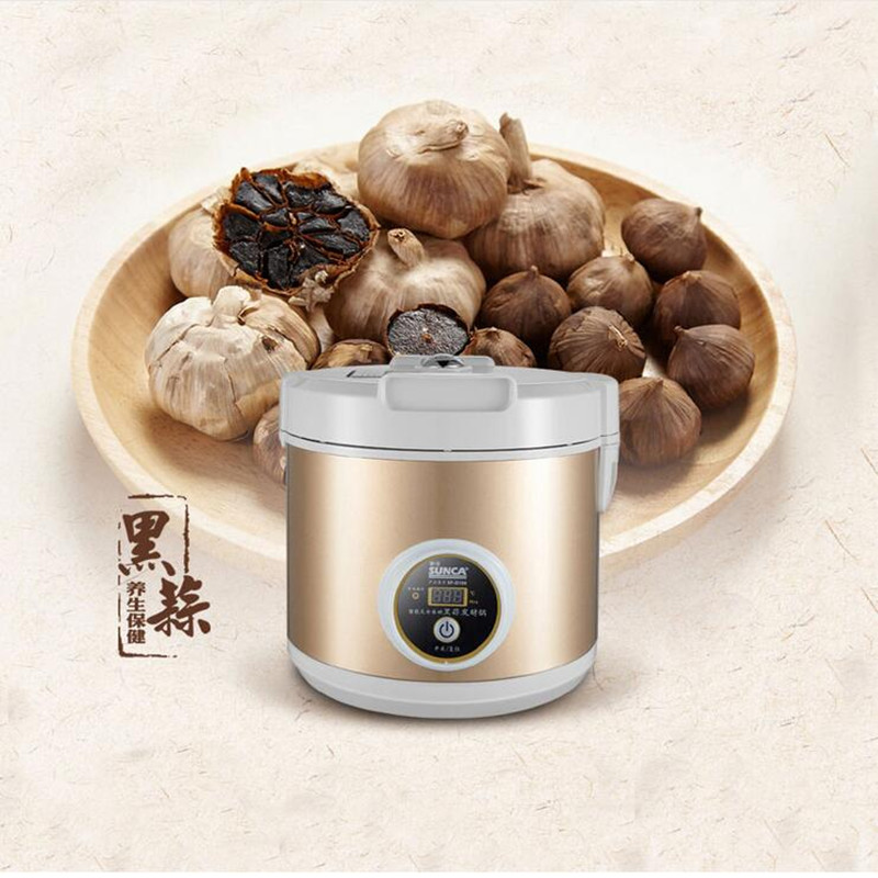 220V Fermenting Black Garlic Machine Health Food Maker Ferment Zymosis Garlic Maker Food Processor For Household Kitchen Tool