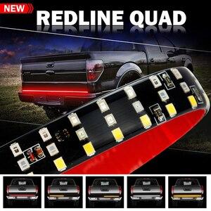 Barra de luces LED OKEEN 432LED de 60 pulgadas para puerta trasera de camión con función de señalización de giro de freno inverso para camioneta Jeep SUV Ford dodge