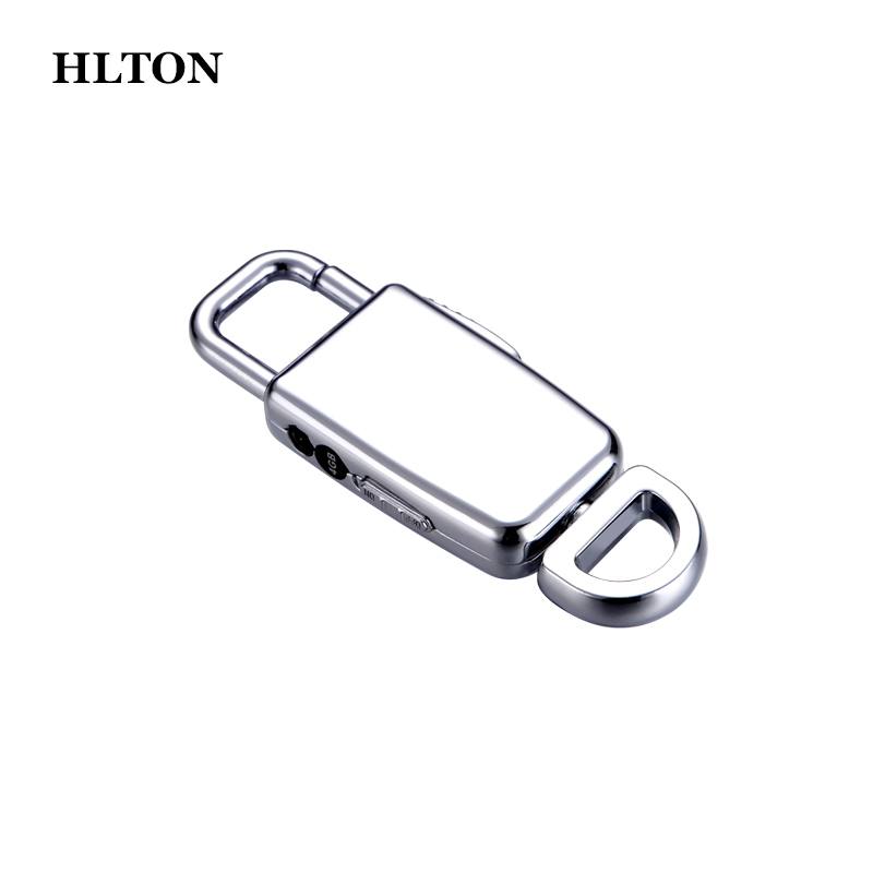 HLTON Portable 8GB Mini Keychain Digital Audio Voice Recorder HD Dictaphone USB Flash Lossless Mp3 Player For Meeting Learning yixiang high quality digital voice recorder 8gb mini usb flash digital audio voice recording 650hr dictaphone wav mp3 player