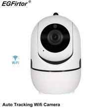 Automatio Tracking Wifi Camera 720P Wireless IP Carmera Surveillance CCTV Camera Cloud Storage Motion Sensor Camera Body Monitor