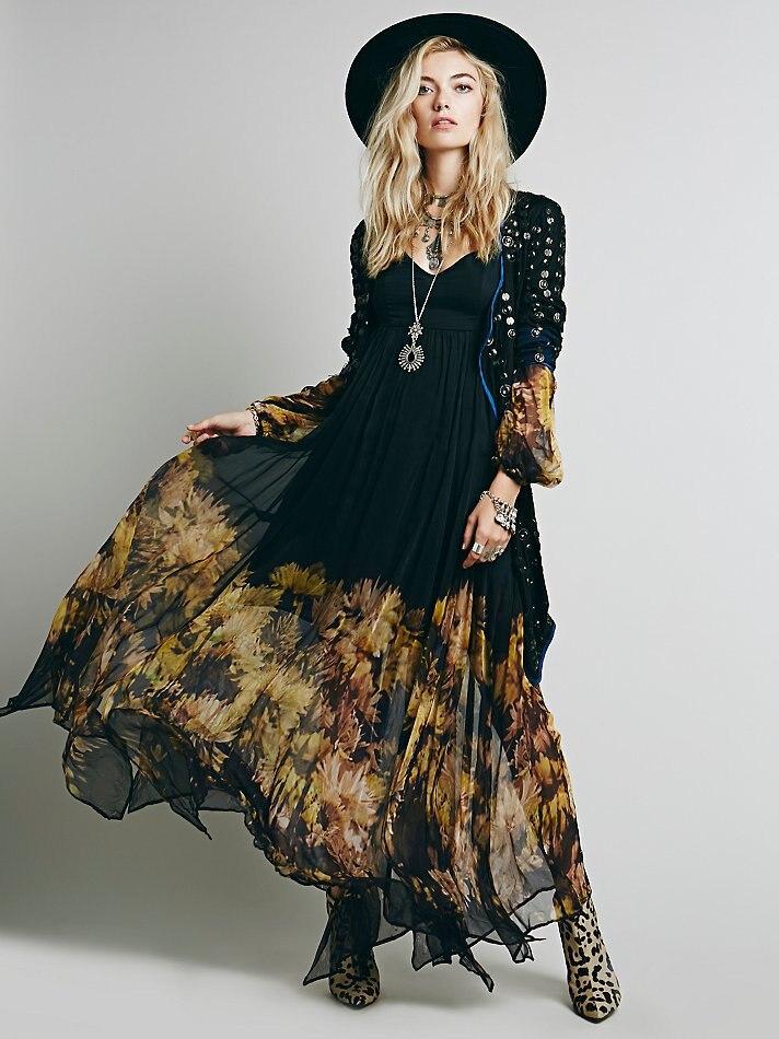 купить платье в стиле бохо