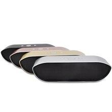 Chaude métal acier Bluetooth haut-parleur radio FM HIFI stéréo basse altavoz enceinte bluetooth portable puissant caixa de som portatil