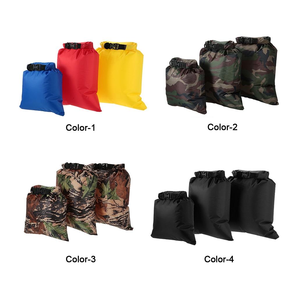 Image 4 - 3L+5L+8L Waterproof Dry 3 Bags Water Resistant Swimming Storage Bag Pack Sack Rafting Kayaking Camping Floating Sailing Canoeing-in Storage Bags from Home & Garden