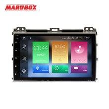 """MARUBOX 2 Din Android 9.0 sekiz çekirdekli 4GB RAM Toyota Prado 120 için Land Cruiser 9 """"IPS GPS radyo araba multimedya oynatıcı 9A107PX5"""