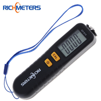 GY910 Digital Coating Thickness Gauges 1 Micron 0 1300 Auto Car Paint Film Thickness Tester Meter