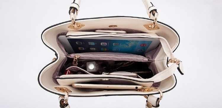 Bolsos de mano de diseñador de alta calidad Bolsos de cuero auténtico para mujer de marca de lujo Bolsos De Mujer bolso bandolera de cocodrilo J398