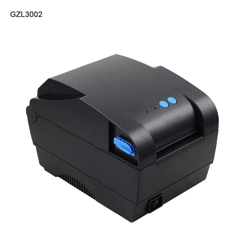 GZL3002 etichetta adesiva Termica stampante di Alta Qualità 80mm Termica Stampante di Etichette di Codici A Barre Porta USB Compatiable ESC/POS 3 pollice 80mm
