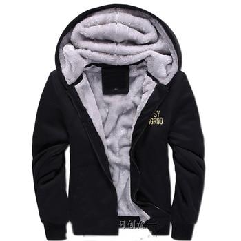 New Fashion Winter Warm STEINS GATE hoodie Anime EL PSY CONGROO Men Thick Hooded Warm Jacket Coat 2