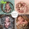 Pura lã Filler almofada cobertor fotografia recém-nascido fundo adereços fotos de estúdio modelagem assistida por enchimento cesta Stuffer 200 G
