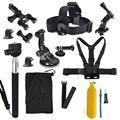 Действия камеры GoPro Go Pro аксессуары Семья Комплект для xiaomi yi HD Hero 2 3 3 + 4 5 SJ4000 SJ5000 SJ6000 аксессуары