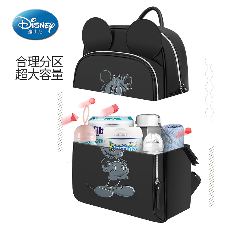 Disney 4 Style Waterproof Material Mummy Diaper Bag Multi-Function Nappy Backpack Large Capacity Baby Bag Insulation Bags disney 4 style waterproof material mummy diaper bag multi function nappy backpack large capacity baby bag insulation bags