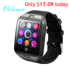 100% Original Q18 Smart Watch Waterproof Smartwatch Sport Watch Wristwatch Support NFC SIM Card Camera For Android Phone PK GT08