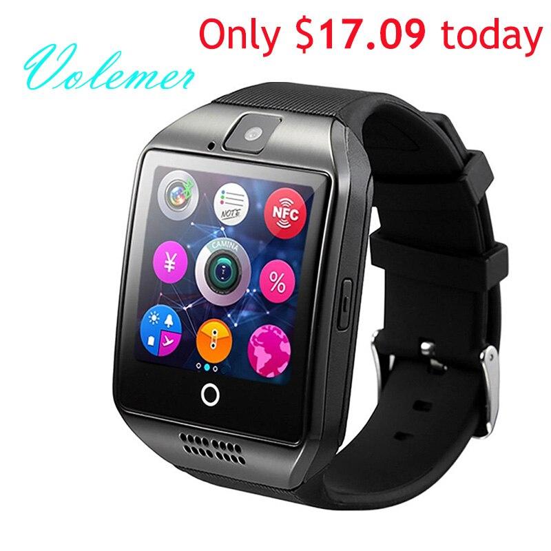 100% original q18 smart watch smartwatch impermeable deporte reloj soporte nfc s