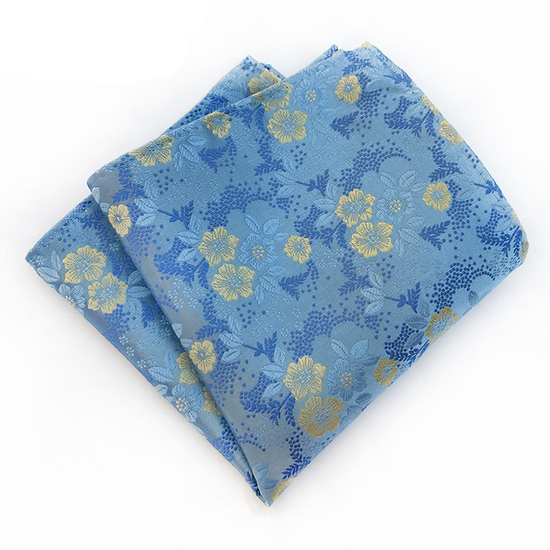 Mantieqingway Vintage Floral Printed Handkerchief For Mens Suit Pocket Square Wedding Party Hankies For Men Brand Small Pocket
