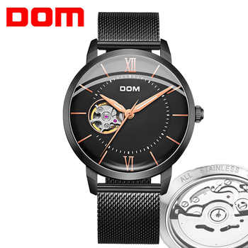 DOM Men Watch 2019 New Casual Fashion Mechanical Watch Luxury Watches Men Top Brand Montre Homme Clock Men Automatic Wrist Watch - DISCOUNT ITEM  50% OFF Watches