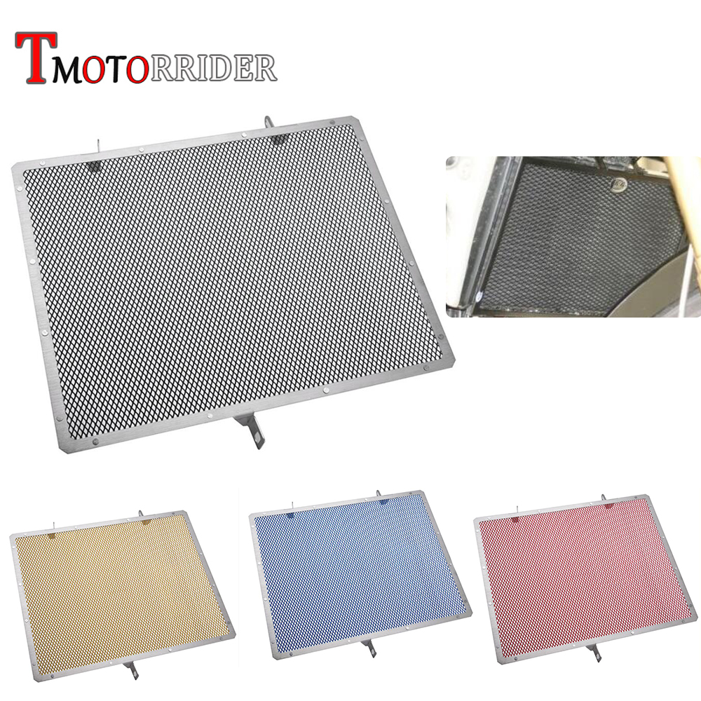 MOTO Aluminum Steel Radiator Guard Grill Cover Oil Cooler Bezel Protector Grille for 2007-2015 <font><b>Honda</b></font> CBR600RR <font><b>CBR</b></font> <font><b>600</b></font> RR <font><b>2008</b></font> image