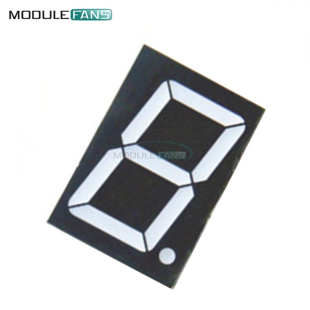 2PCS 1.8 inch 1 digit Green Led display 7 segment Common cathode