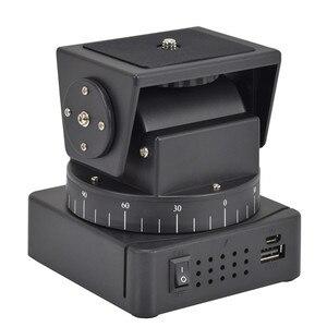Image 2 - ZIFON YT 260 con Control remoto por radiofrecuencia, Control remoto por radiofrecuencia, inclinación panorámica motorizada para cámaras fotográficas, teléfonos móviles, cámara deportiva Go pro Sony con placa de 1/4 pulgadas