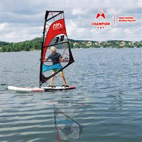 Aqua Marina Champion 9'9BT S300 windsurf sail board Stand up paddle board Inflatable Windsurf/SUP All Around Cruising/Wave