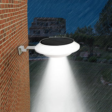 New Hot 4 LED Solar Powered Gutter Light Outdoor/Garden/Yard gutter fence decoration hangying(China)