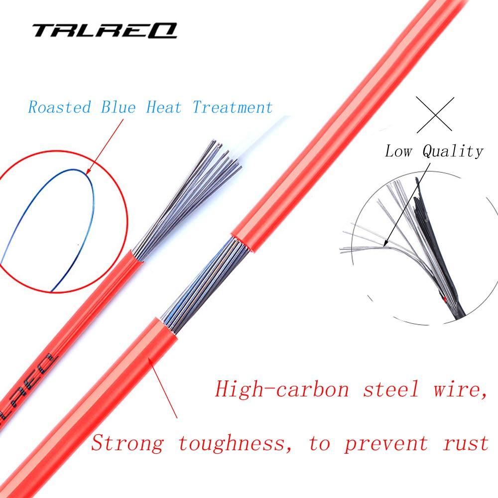 Bicycle Brake//Derailleur Cable Using Bluing Heat Treatment Steel Wire 3 Meters
