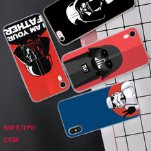 Silicone Phone Case Star wars Fashion Printing for iPhone XS XR Max X 8 7 6 6S Plus 5 5S SE Phone Case Matte Cover silicone phone case fashion sexy marilyn monroe printing for iphone xs xr max x 8 7 6 6s plus 5 5s se phone case matte cover