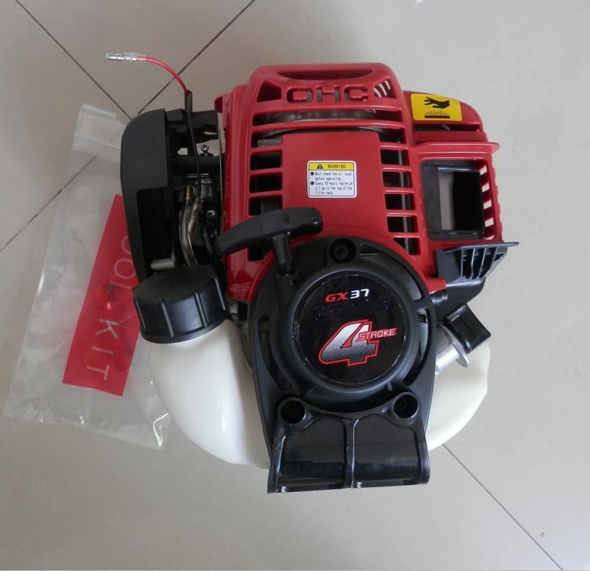 GX37 GASOLINE ENGINE FOR MINI 4 CYCLE 37.7CC POWERED BRUSHCUTTER TRIMMER KNASCK SPRAYER ... GARDEN POWER TOOLS