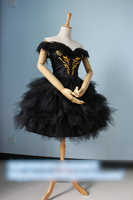 Ballet Dress Black Swan White Swan Gothic Lolita Dance Dress Cosplay Costume Full Set Party Dress