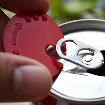 La lata de cerveza cubre 5 uds. Latas de sellado de Cola tapa útil de lata de bebida tapa de Soda bebida Snaps tapas de botella