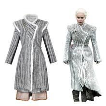 TV Series  Game of Thrones Daenerys Targaryen Cosplay Costumes Performing costumes Halloween party