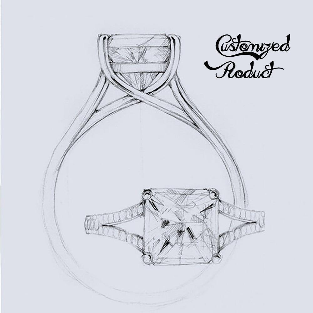 DovEggs 1 4CTW 4mm H Color Round Moissanite Stone Stud Earrings for Women Sterling 925 Platinum