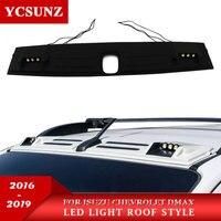 Светодио дный 2018 LED крыша свет Raptor стиль для isuzu DMAX 2018 2016 крыша свет аксессуары для Chevrolet Colorado TrailBlazer d max YCSUNZ
