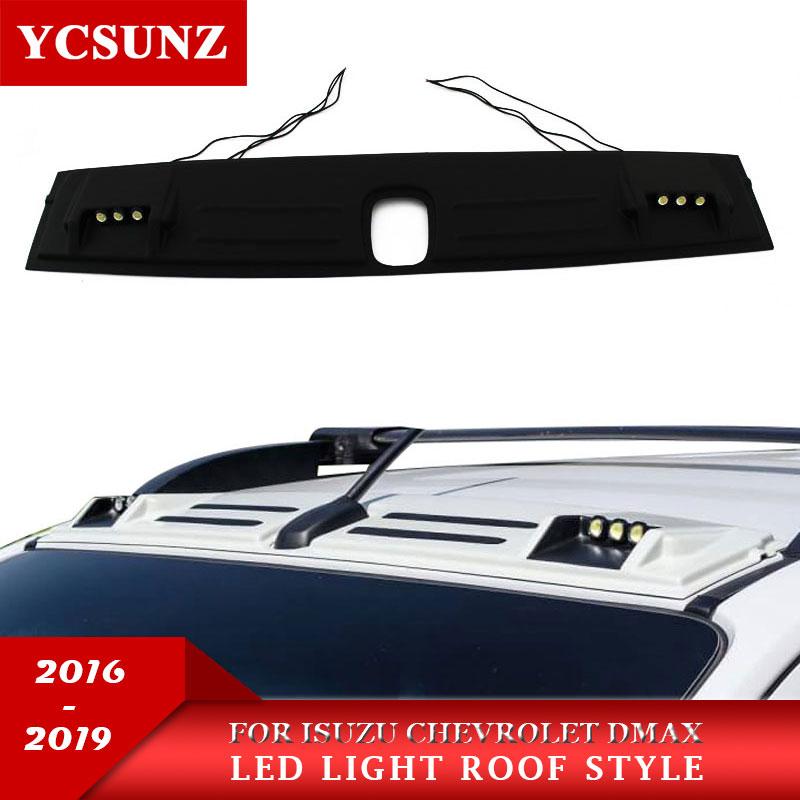 2019 светодиодный фонарь на крышу Raptor стиль для isuzu DMAX 2016 2019 крыша свет аксессуары для Chevrolet Colorado TrailBlazer d max YCSUNZ