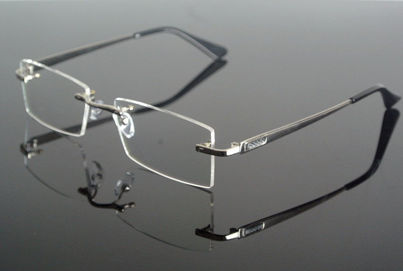ee73d1d153 Buy silver rimless eyeglasses and get free shipping on AliExpress.com