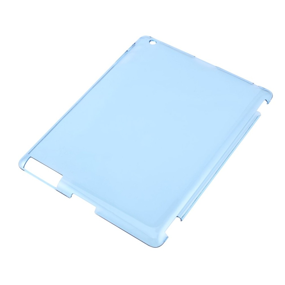 Waterproof Shockproof Drop resistance Anti-Dust Stylish Clear Transparent PC Hard Back Protective Case Cover For iPad 2 3 4