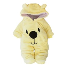 MUQGEW Winter Keep Wram Newborn Baby Girl Boy Solid Bear