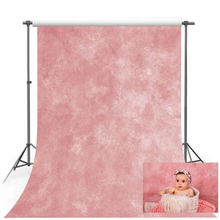 5x7ft Vinyl Pink Solid Color Portrait Wedding Ad Scene Photography Backgrounds Custom Photographic Backdrops