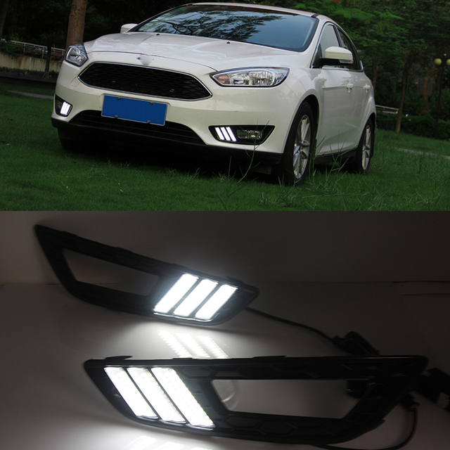 Car Styling For Ford Focus 4 2015 2016 Led Drl Daytime