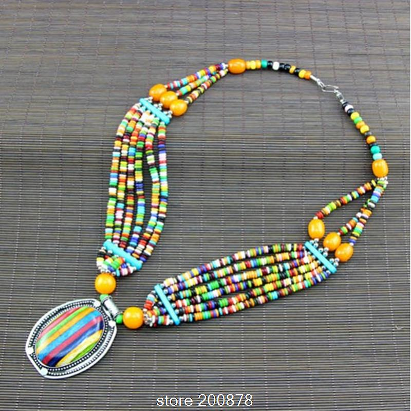 shop necklace beads w bone best straps wanelo on native american leather bead products