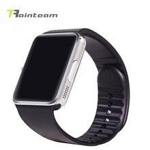 Rainteam gt08 bluetooth smart watch tragbare geräte smartwatch für xiaomi meizu android telefon pk dz09 f69 unterstützung sim tf karte