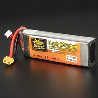 Hot Sale Reachargeable Lipo Battery ZOP Power 11 1V 3500mAh 3S 60C Lipo Battery XT60 Plug