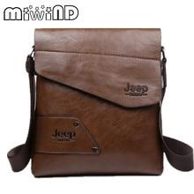 MIWIND Fashion Genuine Leather Men's  Bags Man Portfolio Office Bag Quality Travel Shoulder Handbag for Man  bag