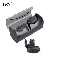 AK Audio Newest TRN T100 Wireless Bluetooth 5.0 Mini Charging Cabin Ear HIFI Sport Earphone Headphone TRN V80/V30/IM1/IM2/X6