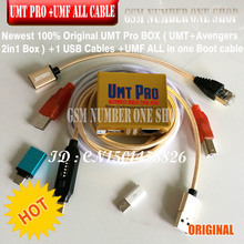 2019 Newest 100% Original UMT Pro BOX  / umt pro tool ( UMT  Avengers 2in1 Box with 1 USB Cables )   umf all in 1 boot cable