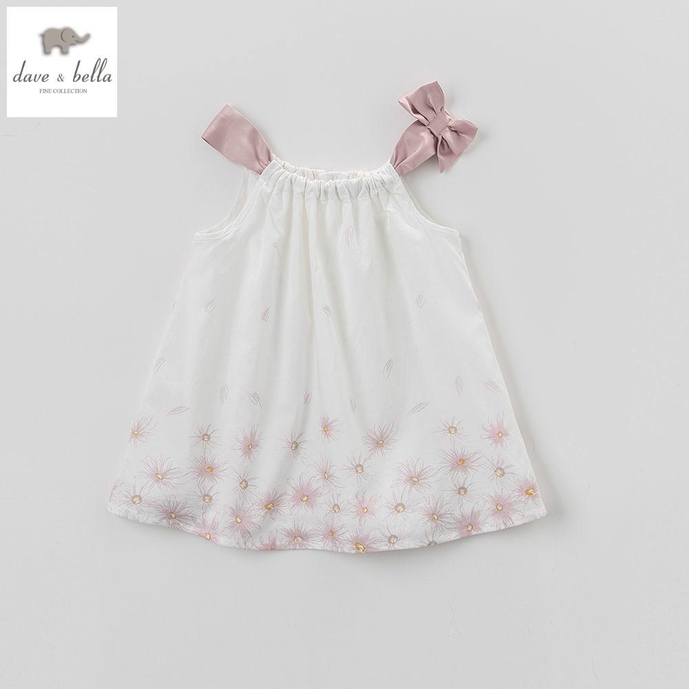 DB5023 dave bella summer baby girls princess floral dress kids birthday dress children dresses kids lolita costumes glasgow coma scale