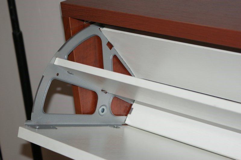 Buy 2pairs lot double layers flap hinge for Schuhschrank flap