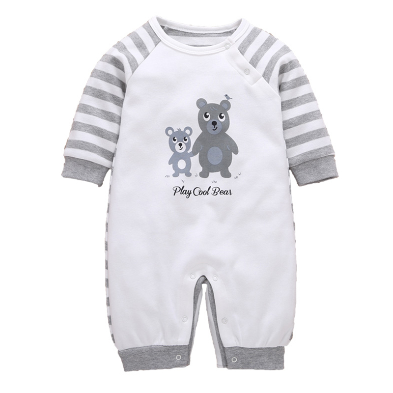 Baby Rompers Autumn Baby Boys Clothing Cartoon Newborn Baby Clothes Roupas Bebe Long Sleeve Baby Girl Clothes Infant Jumpsuits cotton baby rompers set newborn clothes baby clothing boys girls cartoon jumpsuits long sleeve overalls coveralls autumn winter